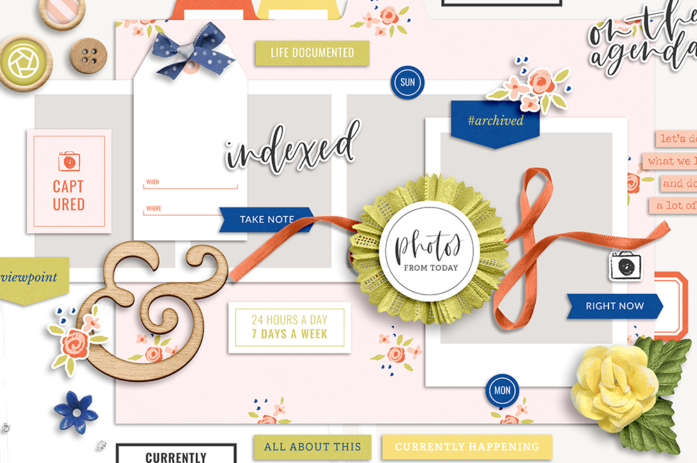Shop update | Indexed collection + January layout templates