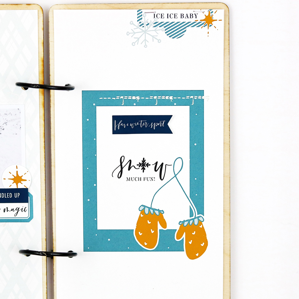 5 ways to make a scrapbook layout more fun - Sahin Designs