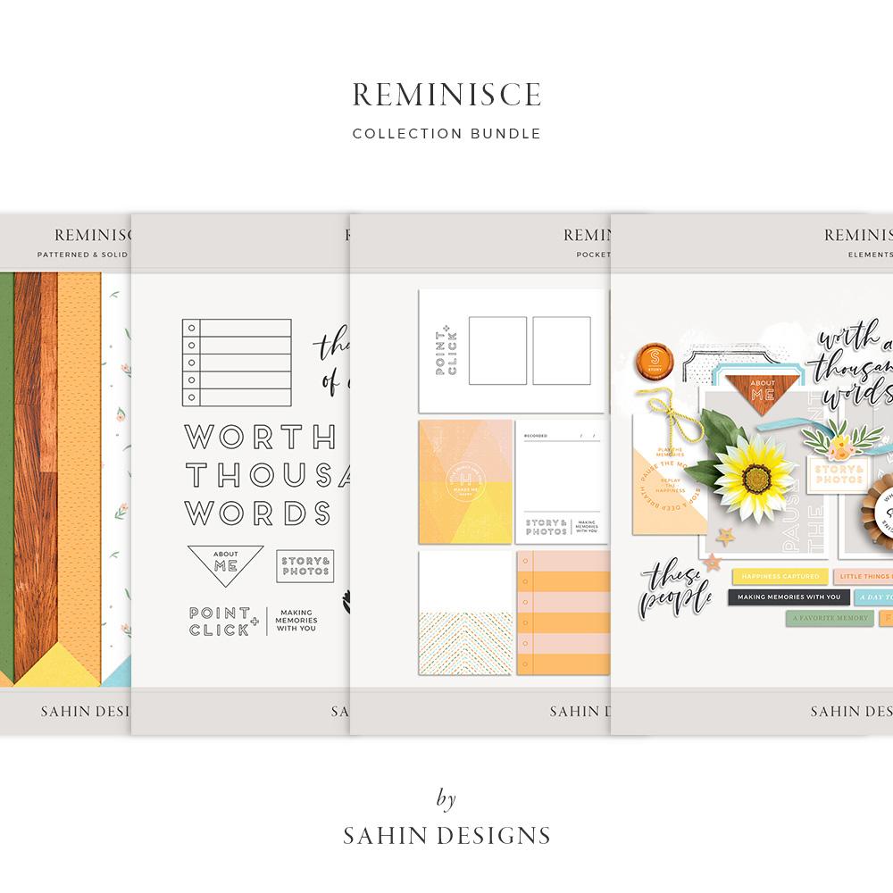 Reminisce Digital Scrapbook Collection - Sahin Designs