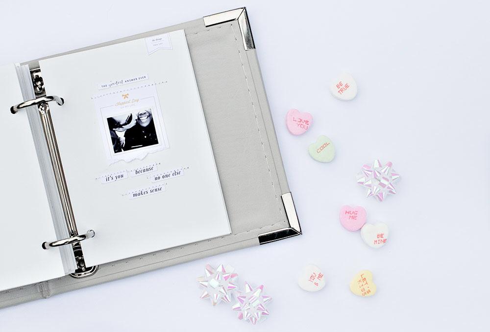 How to make a simple love album - Sahin Designs