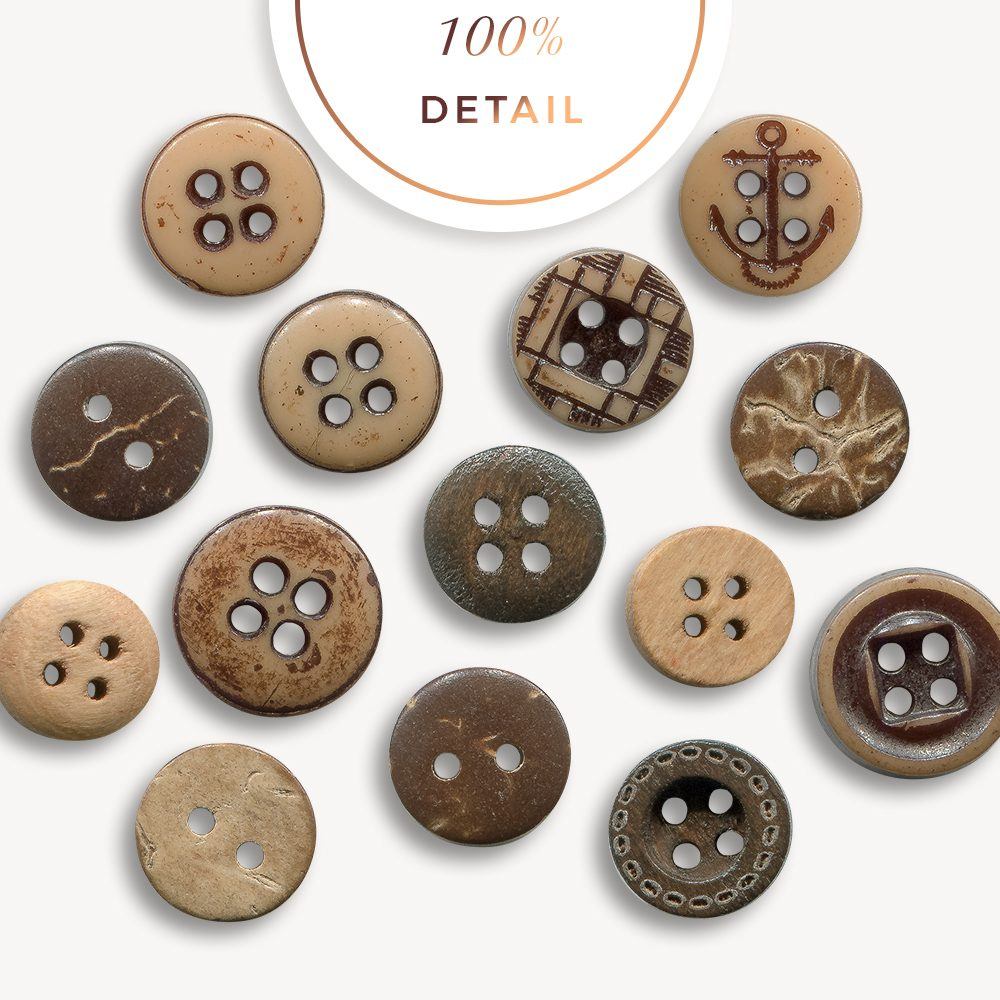 Extracted brown buttons - Sahin Designs - CU Digital Scrapbook
