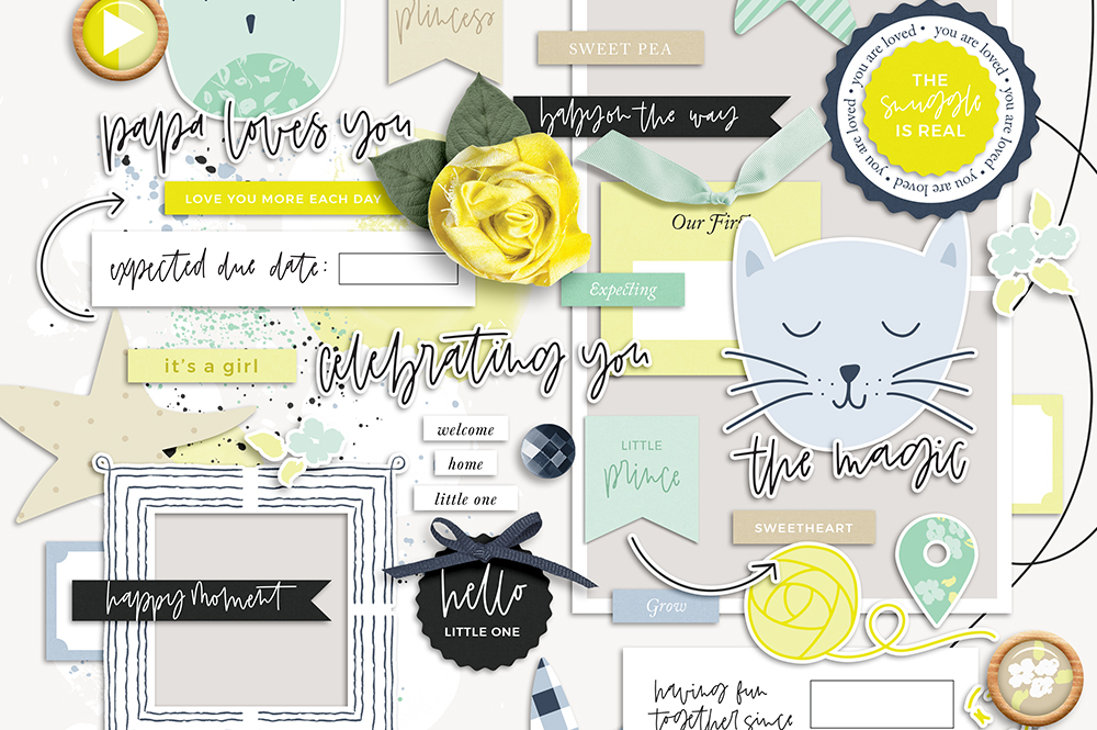 New Day Digital Scrapbook Collection - Sahin Designs
