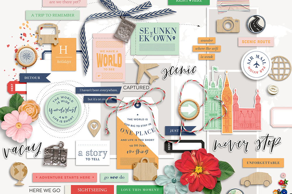 Shop update | Wanderlust collection + March templates