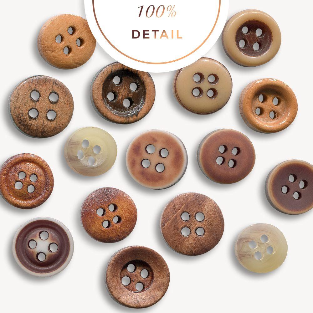 Extracted Vintage Buttons - Sahin Designs - CU Digital Scrapbook