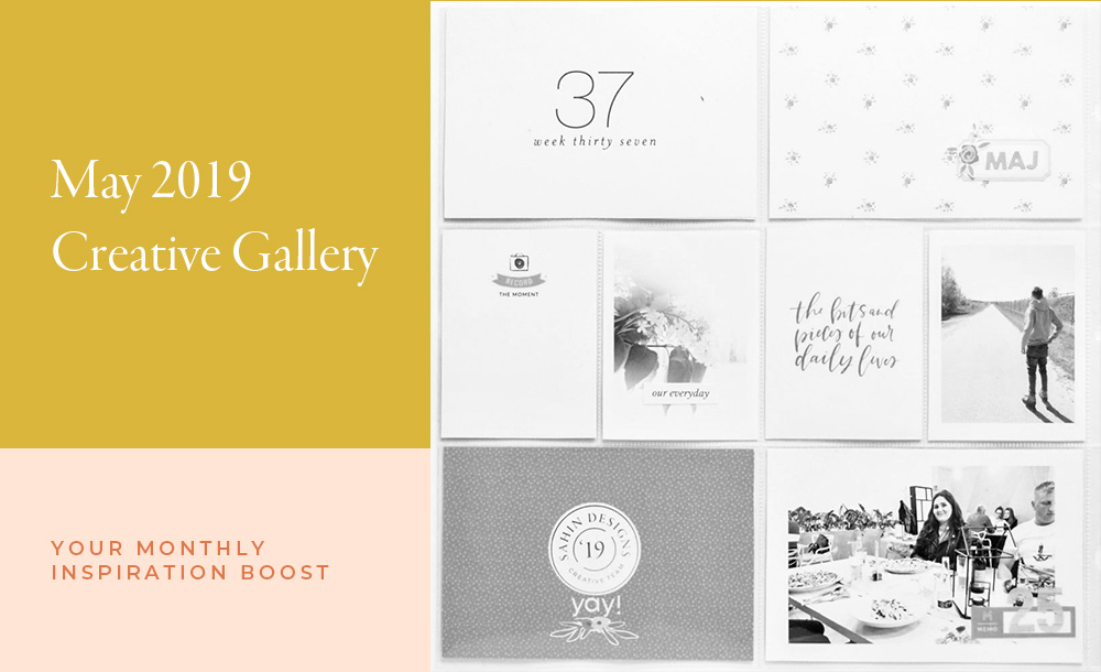May Creative Scrapbook Gallery 2019 - Sahin Designs