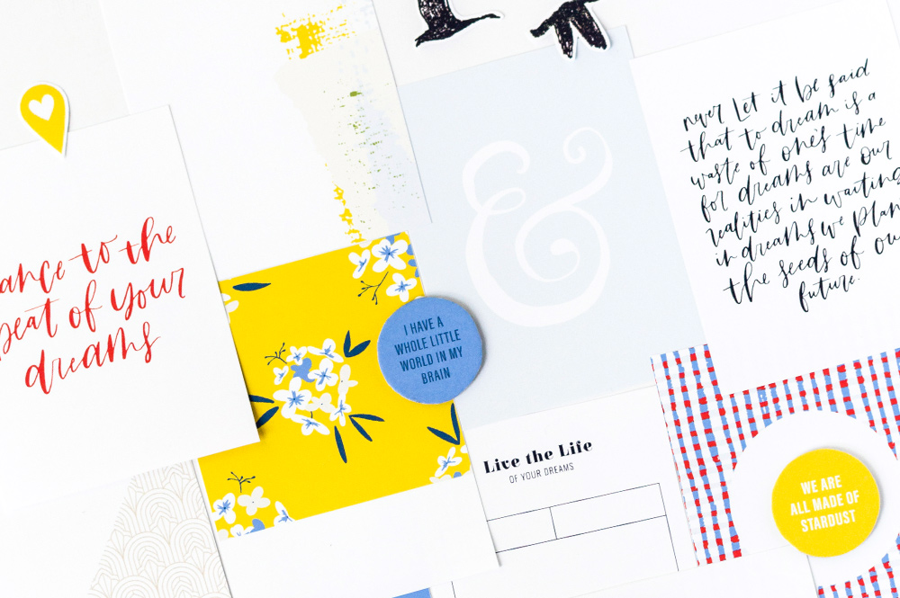 Shop update | Reverie collection + May layout templates