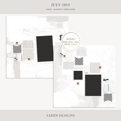 sahin designs, digital scrapbook supplies, scrapbooking supplies, layered scrapbook sketch, scrapbook layout template, scrapbook layout sketch