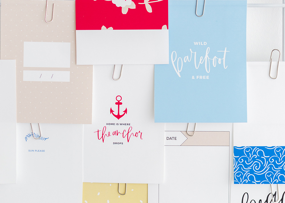 Shop update | Escape collection + July layout templates