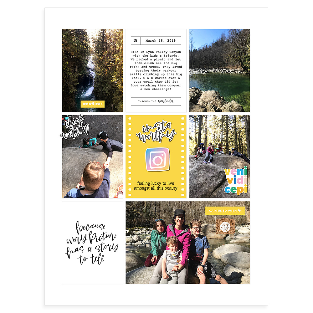 scrapbook layout, scrapbook page, scrapbook inspiration, scrapbook idea, digital scrapbooking, digital scrapbook layout, digital scrapbook page