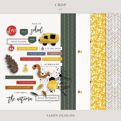 digital scrapbooking, scrapbooking, printable scrapbook supply, scrapbook kit, printable paper, patterned paper, autumn scrapbook, fall scrapbook, sahin designs