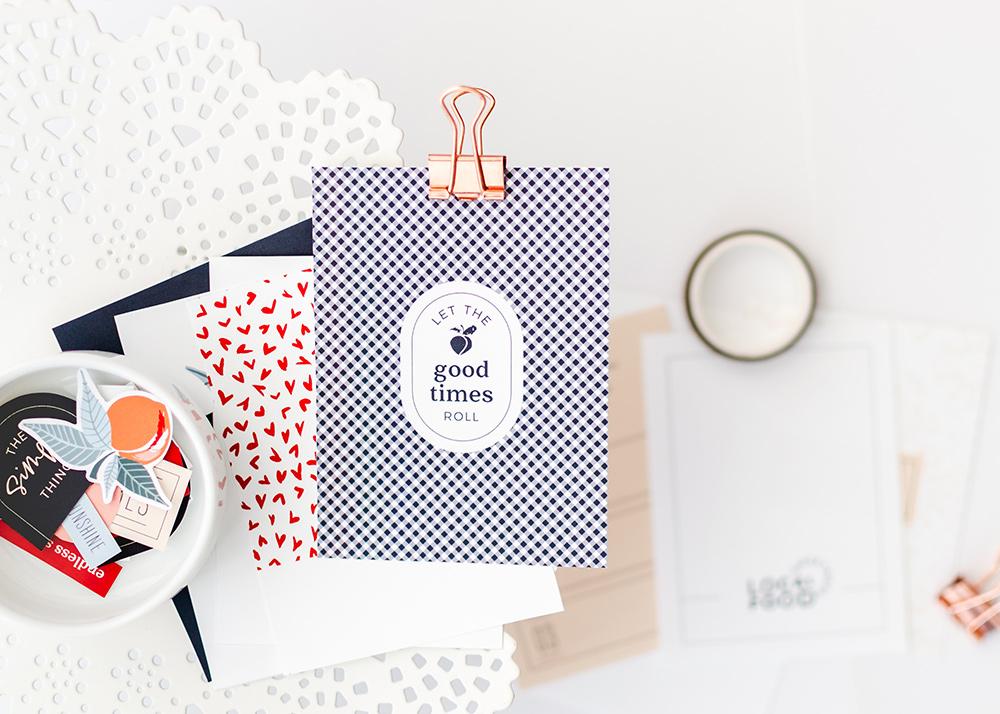 Peachy Keen Digital Scrapbook Collection - Sahin Designs