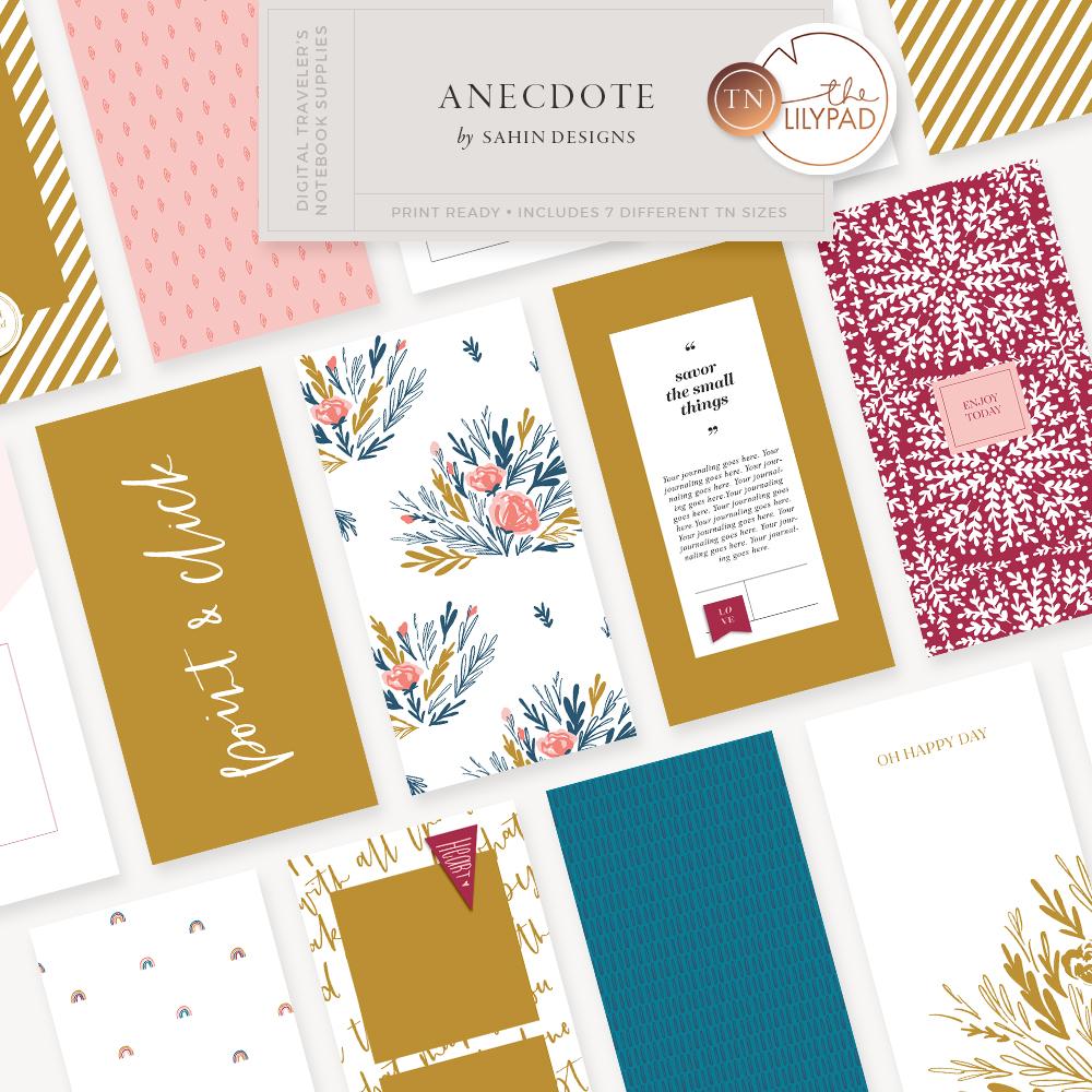 Anecdote Traveler's Notebook Kit - Sahin Designs