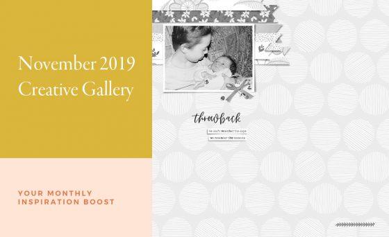 November Creative Scrapbook Gallery 2019 - Sahin Designs