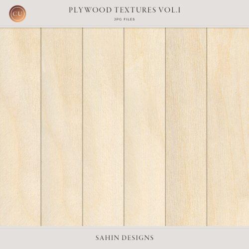 Plywood Textures - Sahin Designs - CU Digital Scrapbook
