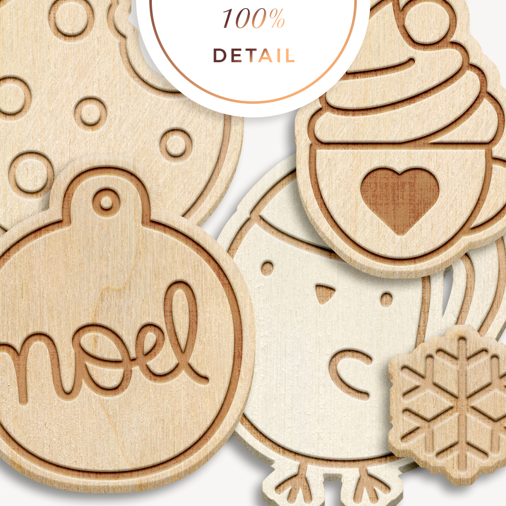 Etched Wood Photoshop Layer Styles - Sahin Designs