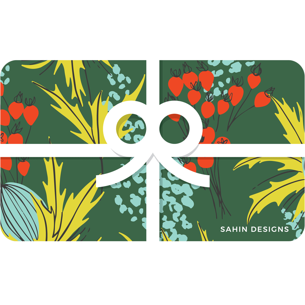 Digital scrapbooking gift card - Sahin Designs