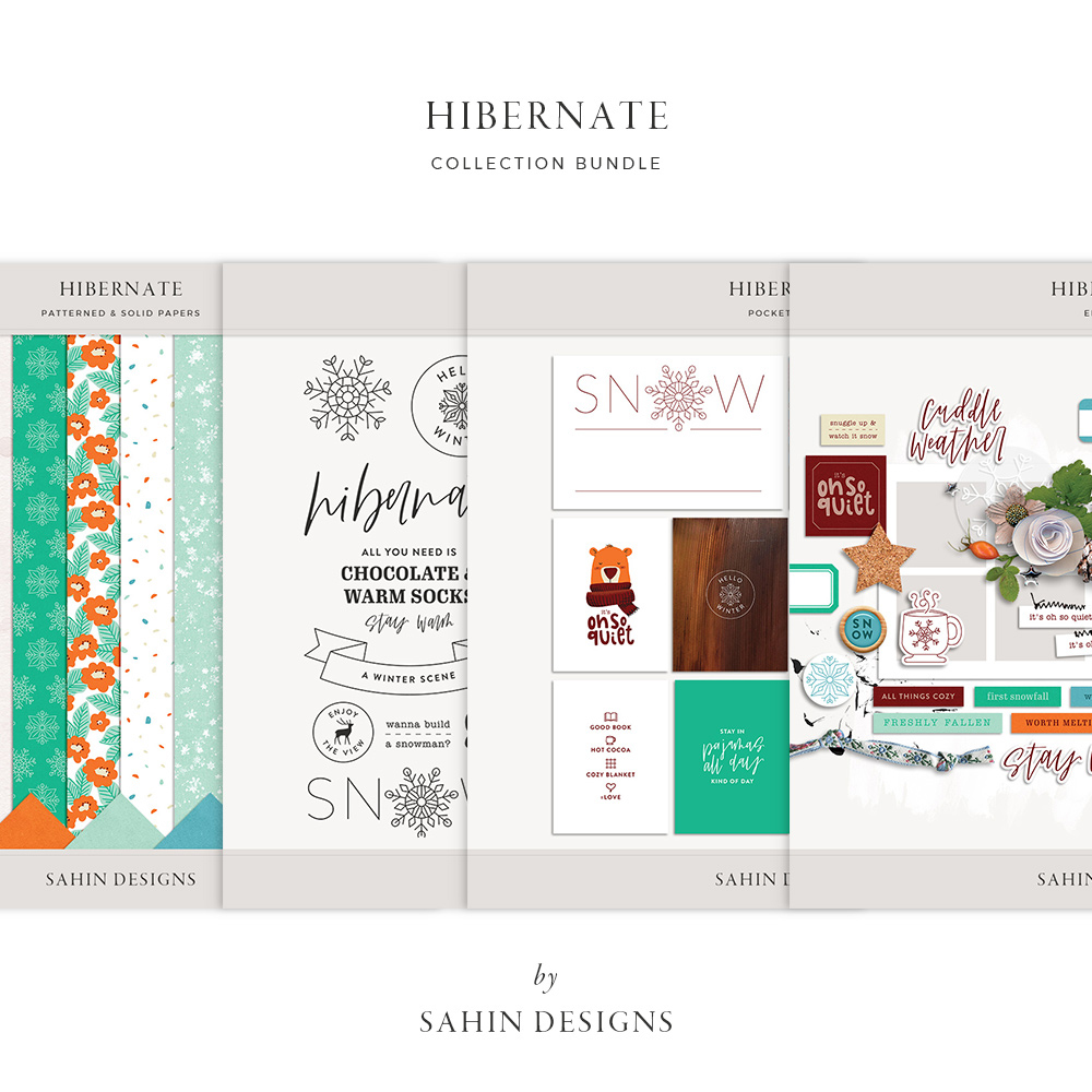 Hibernate Digital Scrapbook Collection - Sahin Designs