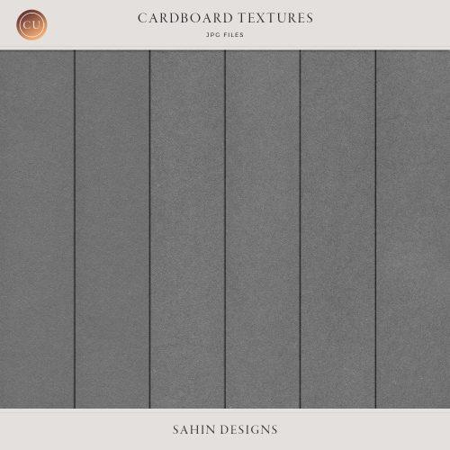 Digital cardboard textures - Sahin Designs - CU Digital Scrapbook