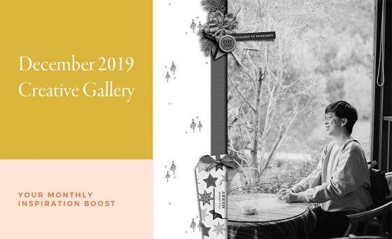 December Creative Scrapbook Gallery 2019 - Sahin Designs