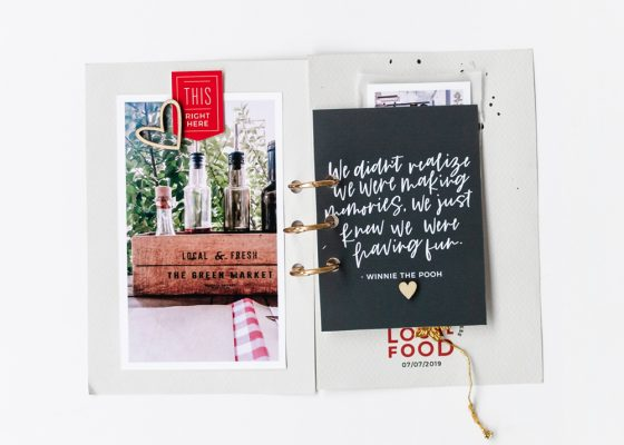 Scrapbook Recipe Challenge January 2020 - Sahin Designs
