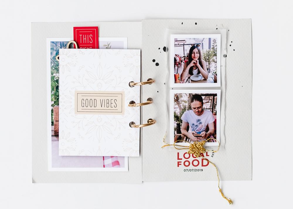 Scrapbook Recipe Challenge January 2020 - Sahin Designs