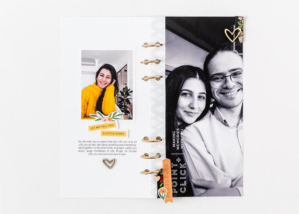 Scrapbook Recipe Challenge February 2020 - Sahin Designs