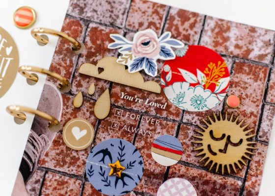 Scrapbook Recipe Challenge March 2020 - Sahin Designs