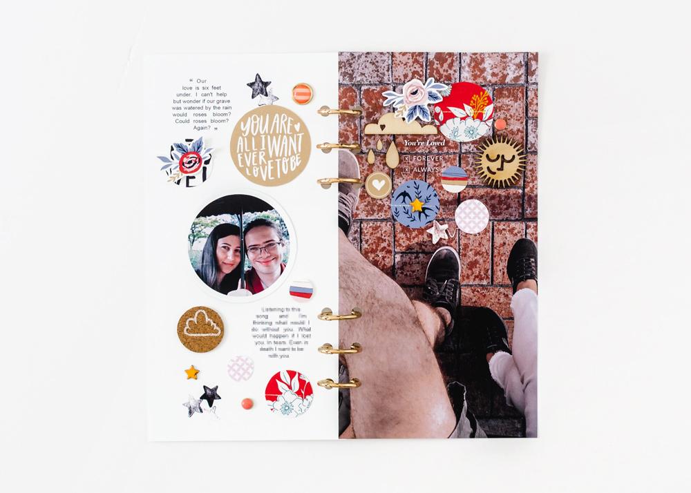 Scrapbook Recipe Challenge March 2020 - Sahin Designs