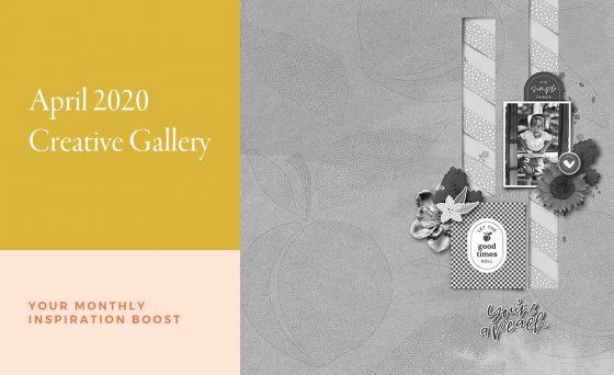 April Creative Scrapbook Gallery 2020 - Sahin Designs