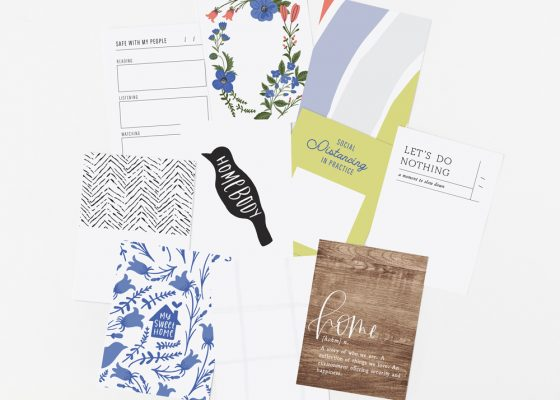 Homebody Digital Scrapbook Collection - Sahin Designs