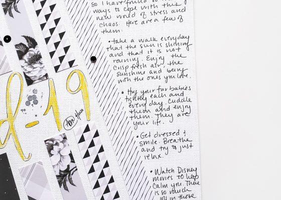 Scrapbook Recipe Challenge April 2020 - Sahin Designs