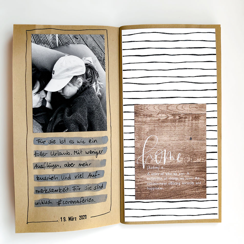 Traveler's Notebook Scrapbook Inspiration - Sahin Designs