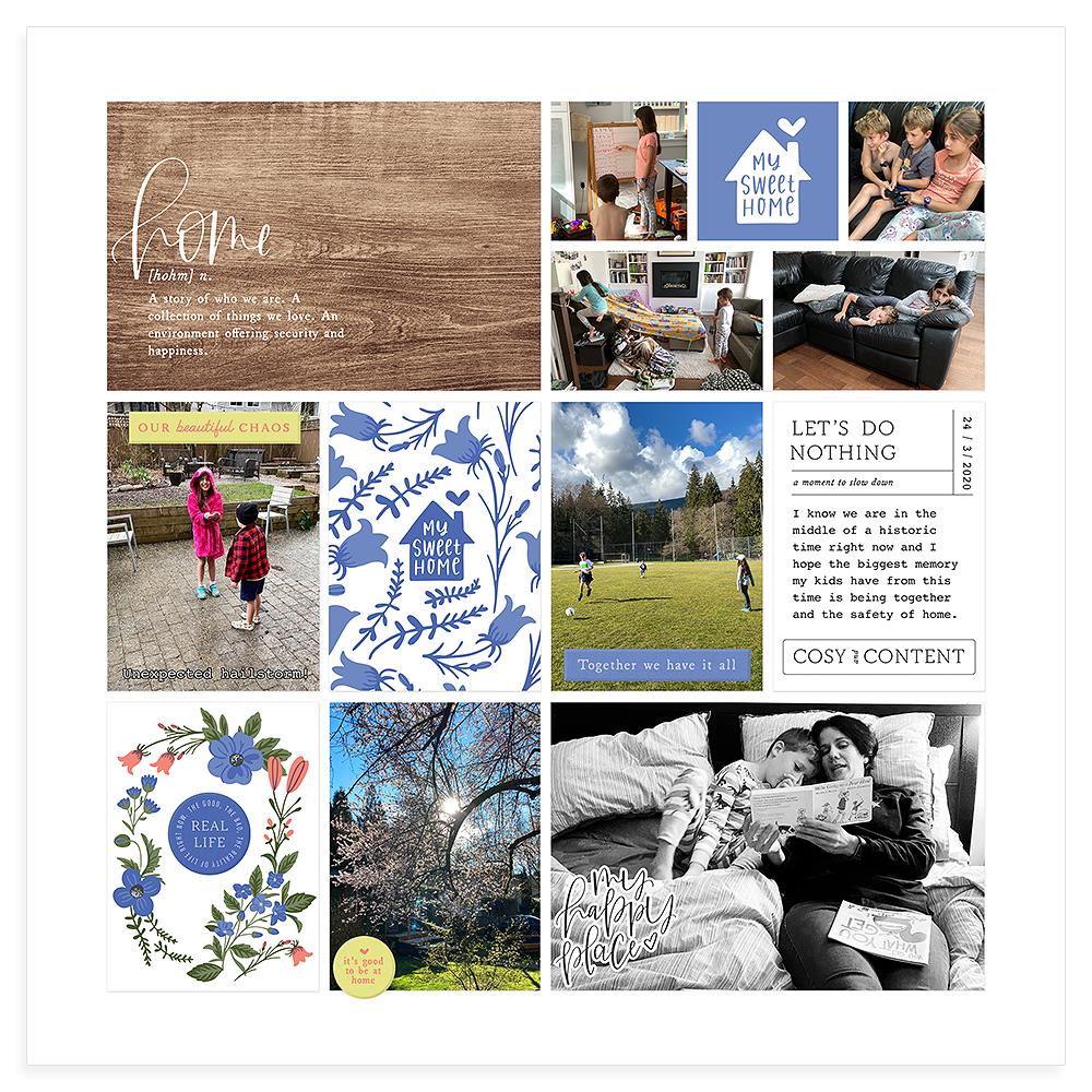 Pocket Scrapbook Inspiration - Sahin Designs