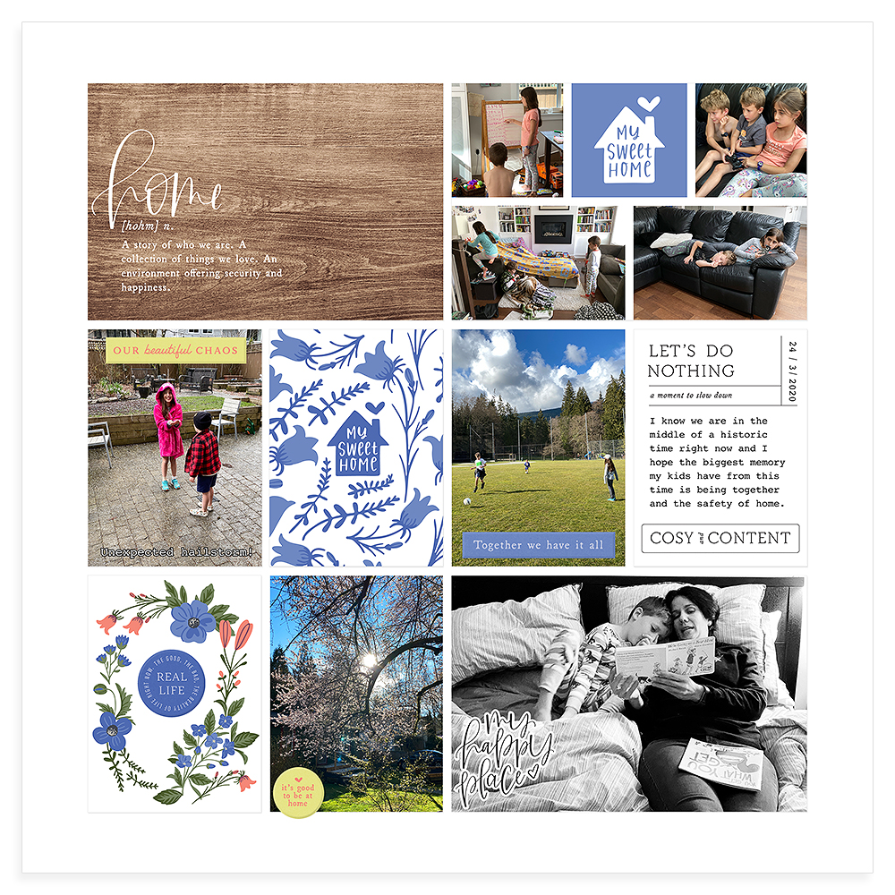 Pocket Scrapbook Inspiration - Sahin Designs