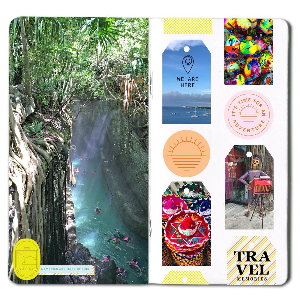 Digital Scrapbook Inspiration - Sahin Designs