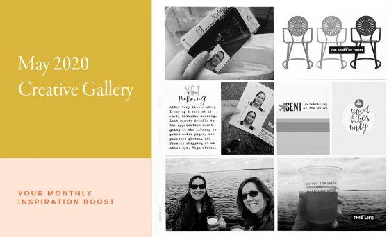May Creative Scrapbook Gallery 2020 - Sahin Designs