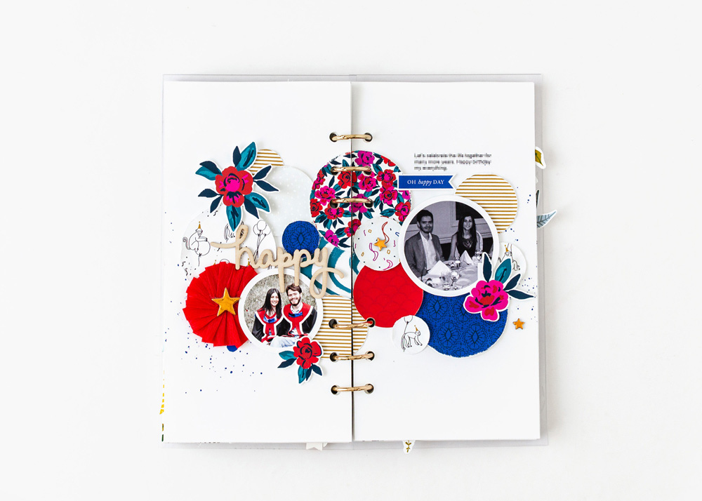 Scrapbook Recipe Challenge August 2020 - Sahin Designs