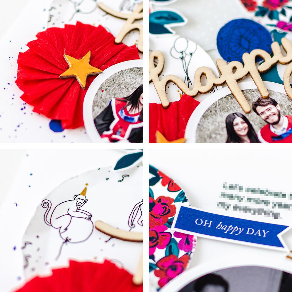Scrapbook Recipe Challenge August 2020 - Sahin Designs