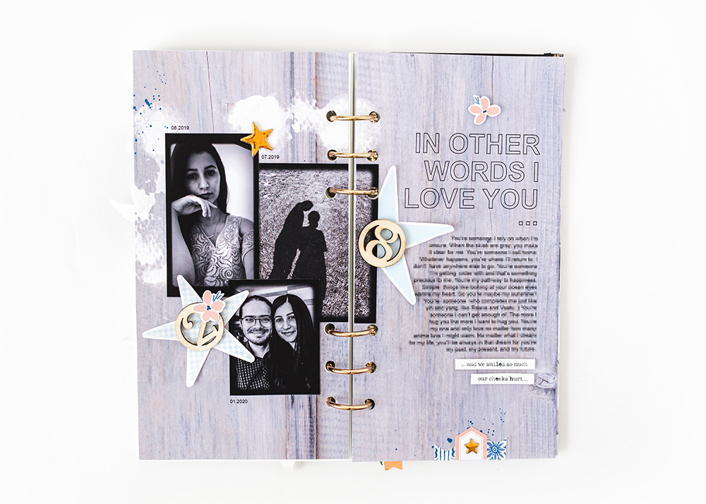 Scrapbook Recipe Challenge July 2020 - Sahin Designs