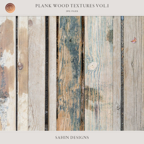 Plank wood textures - Sahin Designs - CU Scrapbook