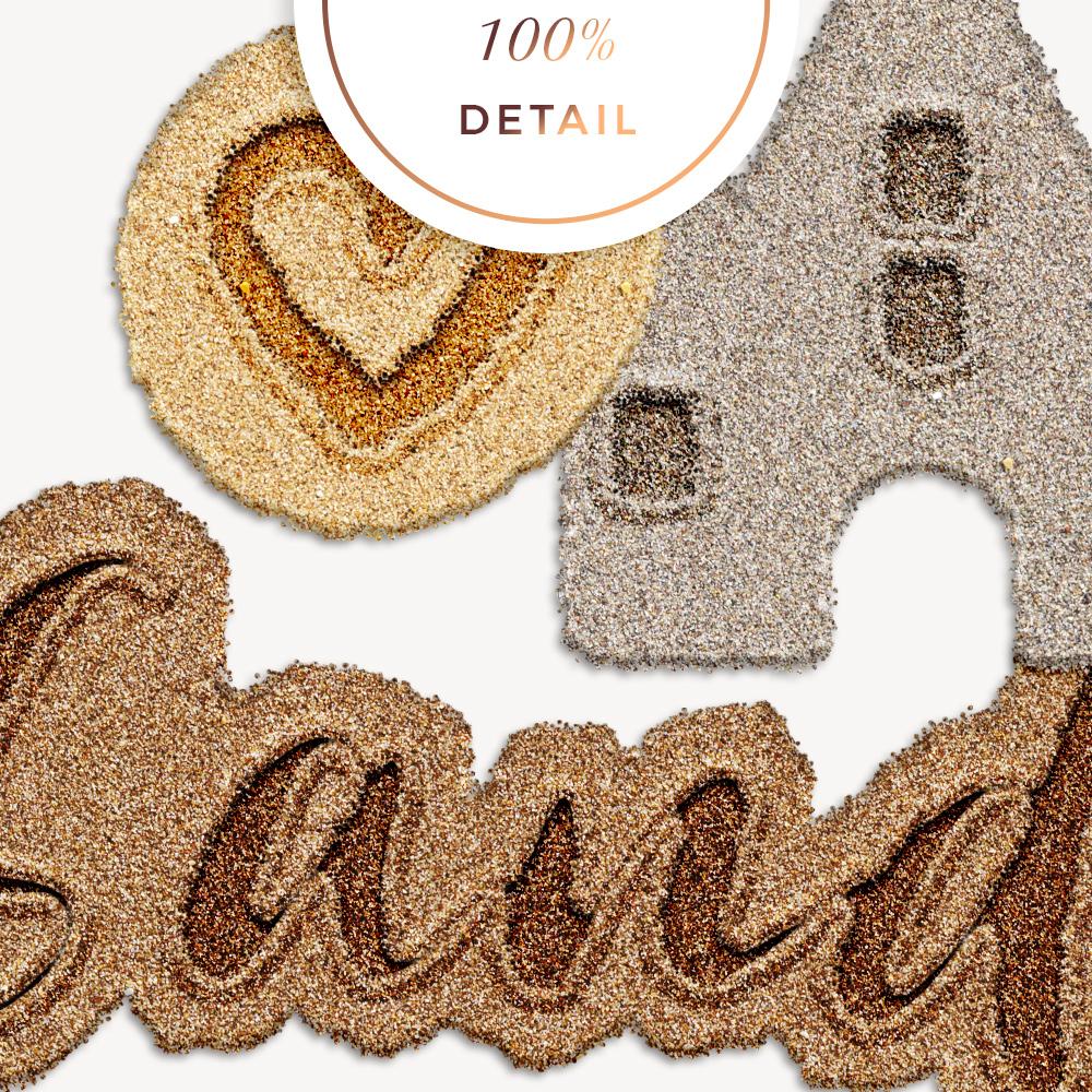 Sand Photoshop Layer Styles - Sahin Designs - CU Digital Scrapbook