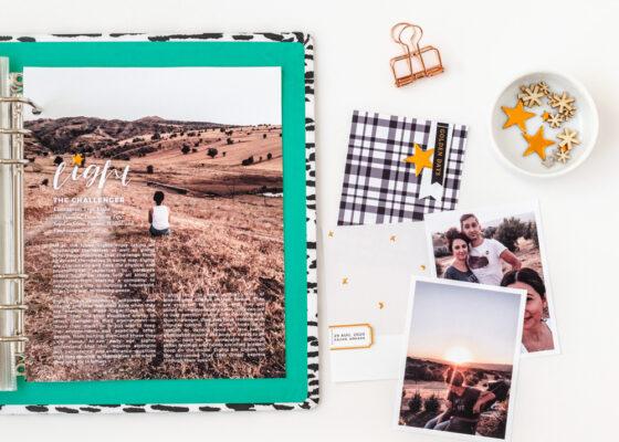 Scrapbook Recipe Challenge September 2020 - Sahin Designs