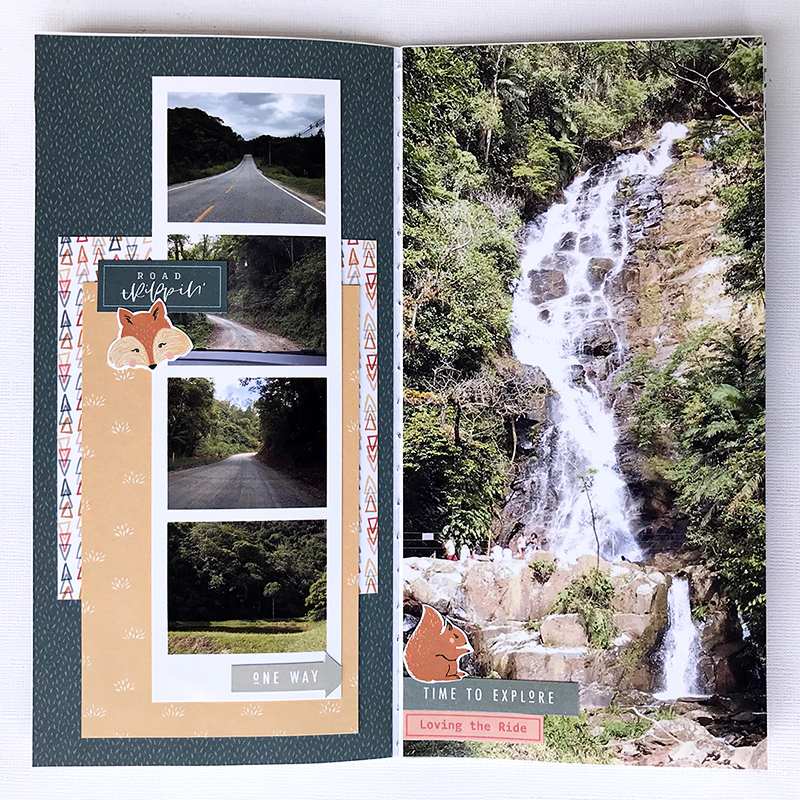 Hybrid Scrapbooking Layout Inspiration - Sahin Designs
