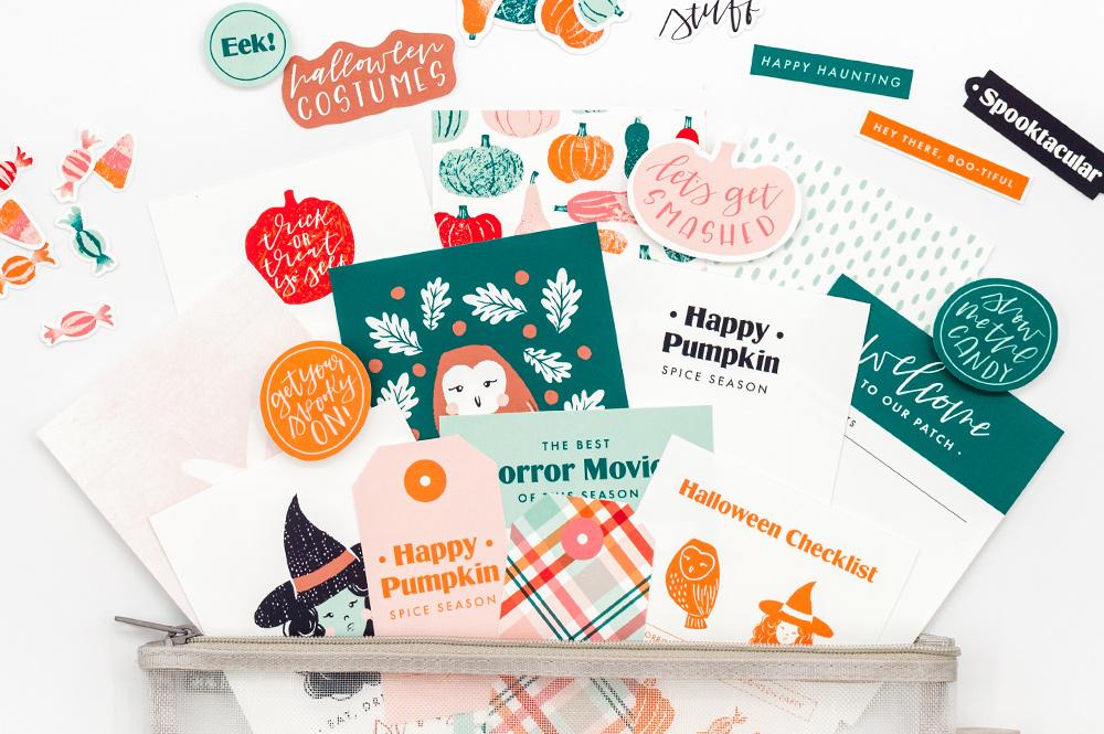 Boo & Stuff Digital Scrapbook Collection - Sahin Designs