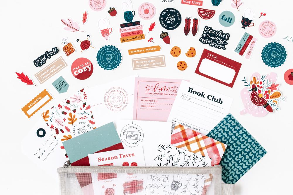 Cozy Nook Digital Scrapbook Collection - Sahin Designs