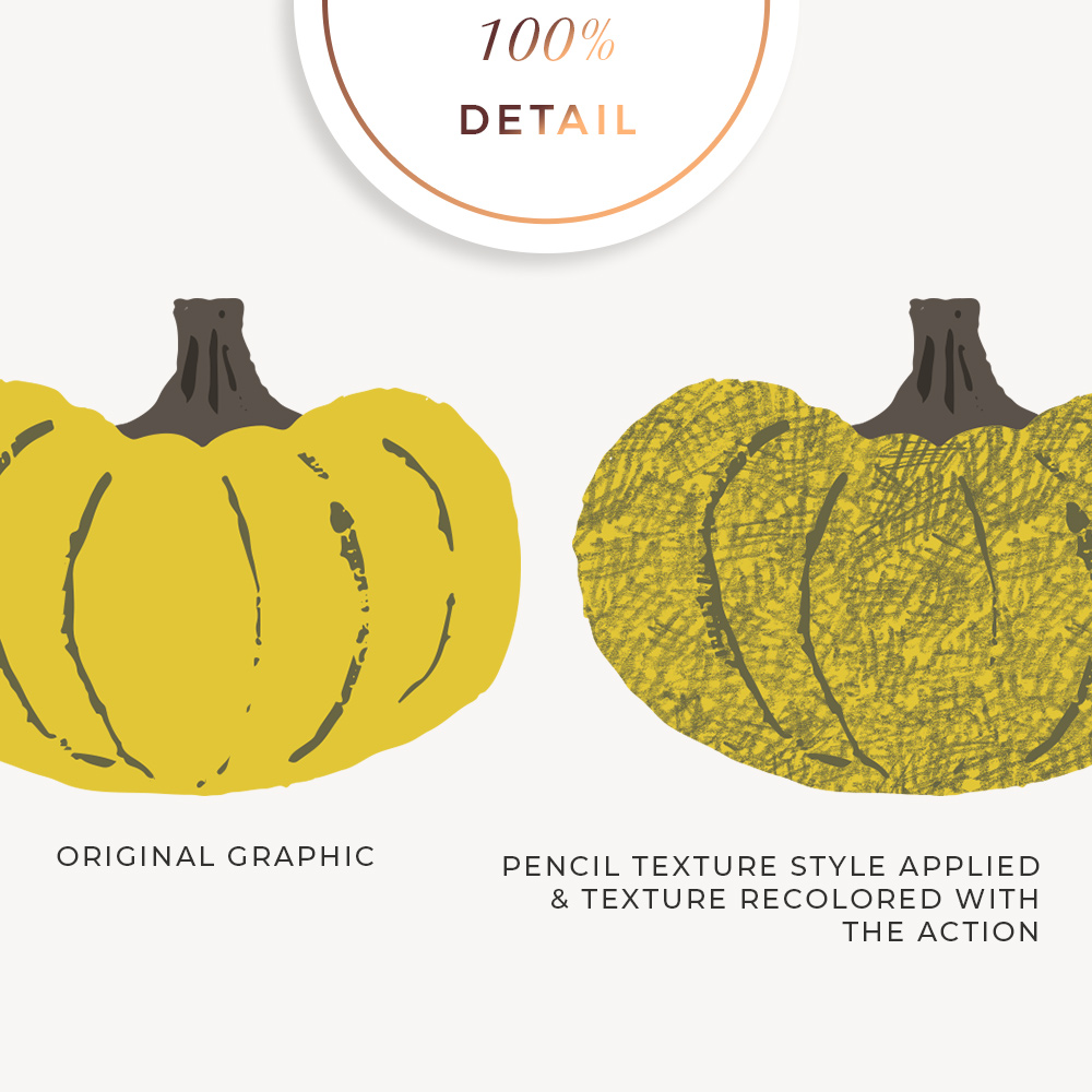 Pencil Texture Photoshop Layer Styles - Sahin Designs - CU Digital Scrapbook