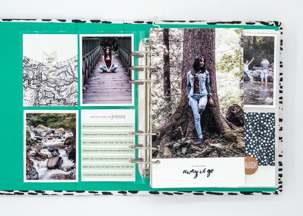 Scrapbook Recipe Challenge October 2020 - Sahin Designs