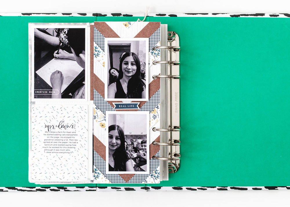 Scrapbook Recipe Challenge November 2020 - Sahin Designs