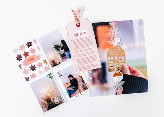 Scrapbook Recipe Challenge December 2020 - Sahin Designs