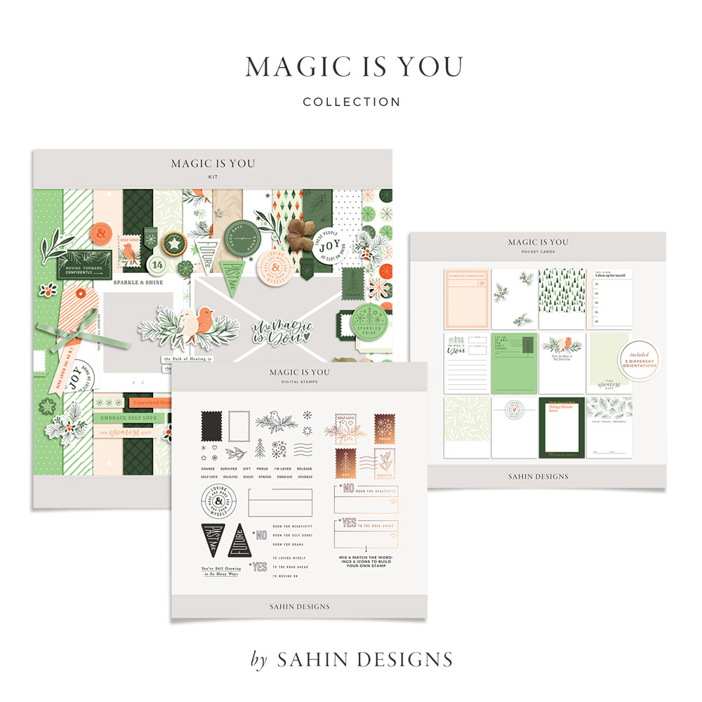 Magic is You Digital Scrapbook Collection - Sahin Designs